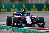 montmelo spain brendon hartley new zealand