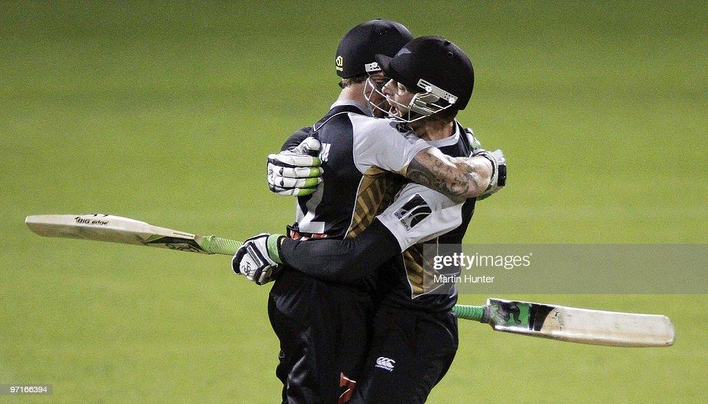New Zealand v Australia - Twenty20 International : News Photo