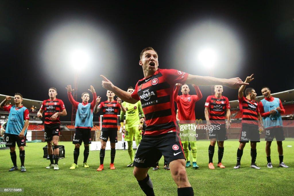A-League Rd 24 - Western Sydney v Melbourne
