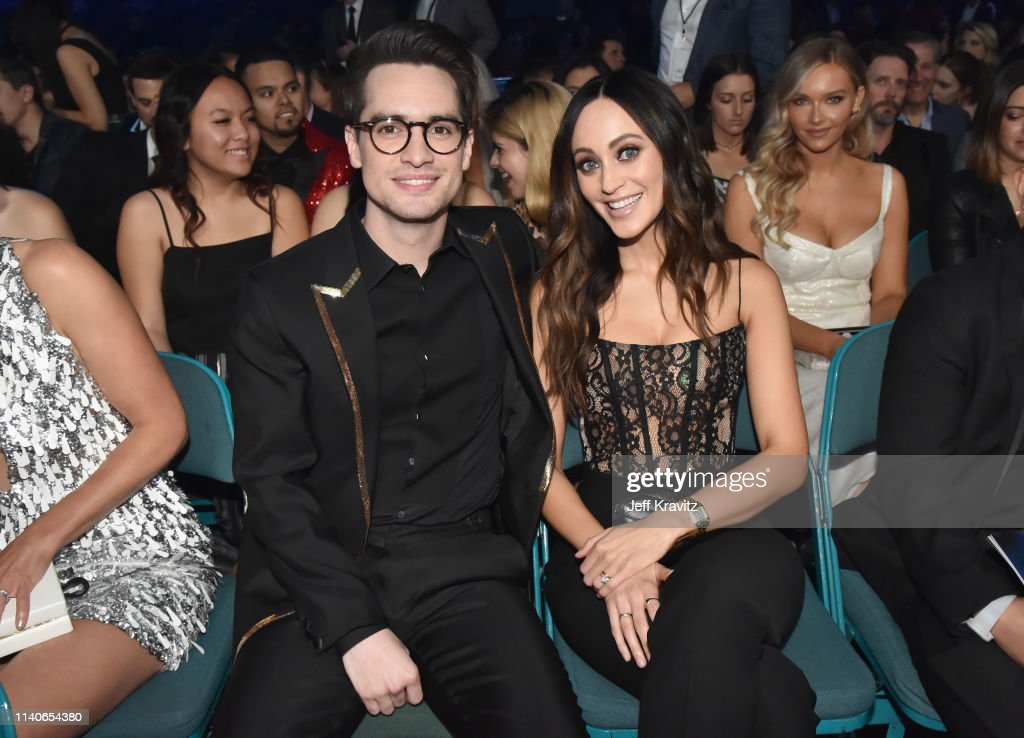 Brendon Urie and Sarah Orzechowski attend the 2019 Billboard