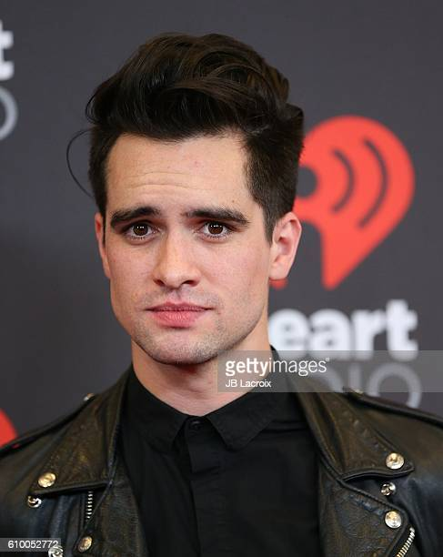 Brendon Urie attends the 2016 iHeartRadio Music Festival Night 1 at TMobile Arena on September 23 2016 in Las Vegas Nevada