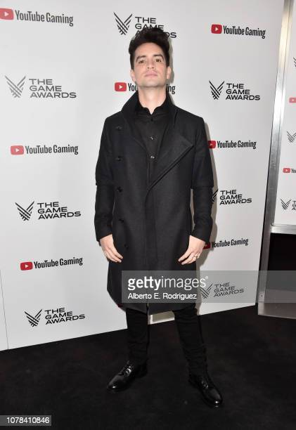 Brendon Urie attends The 2018 Game Awards at Microsoft Theater on December 06 2018 in Los Angeles California