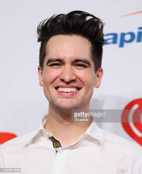 Brendon Urie attends the 2018 iHeartRadio Music Festival at TMobile Arena on September 21 2018 in Las Vegas Nevada