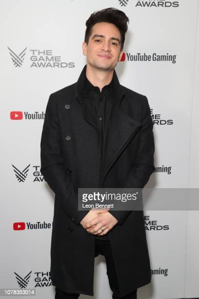 Brendon Urie attends The Game Awards 2018 Arrivals at Microsoft Theater on December 06 2018 in Los Angeles California