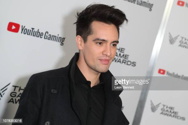 Brendon Urie attends The Game Awards 2018 - Arrivals at Microsoft Theater on December 06, 2018 in Los Angeles, California.