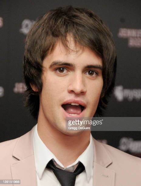"Brendon Urie of Panic! At The Disco arrives at the MySpace + IGN Celebration of ""Jennifer's Body"" at the Manchester Grand Hyatt in San Diego,..."
