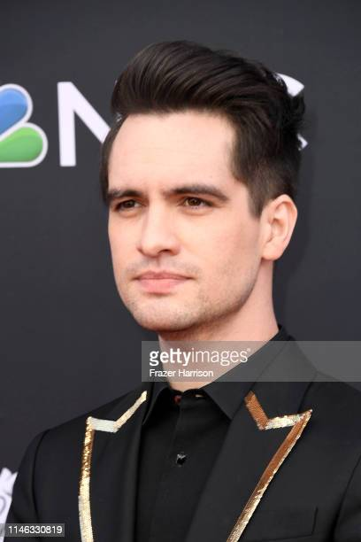 Brendon Urie of Panic at the Disco attends the 2019 Billboard Music Awards at MGM Grand Garden Arena on May 01 2019 in Las Vegas Nevada