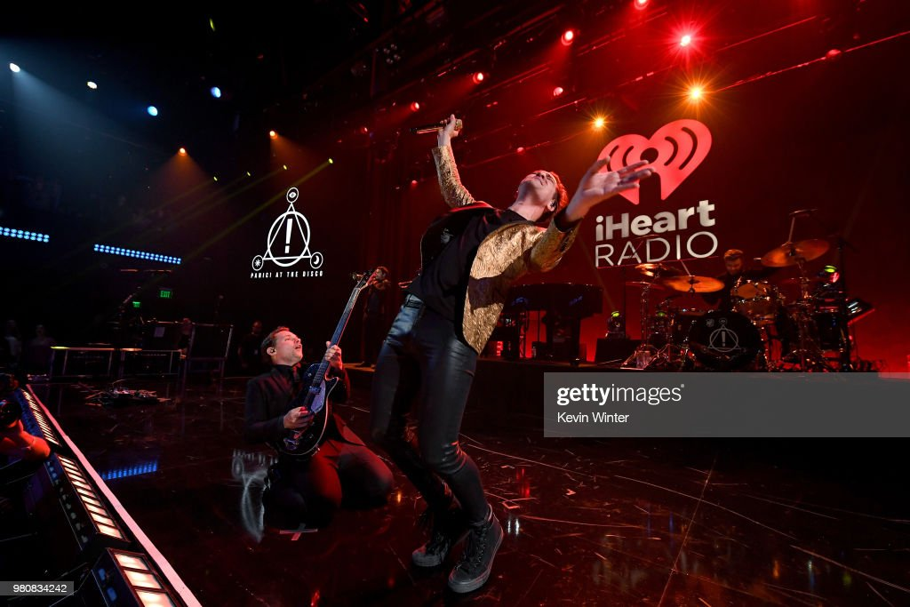 iHeartRadio Album Release Party with Panic! At The Disco at the iHeartRadio Theater in Los Angeles