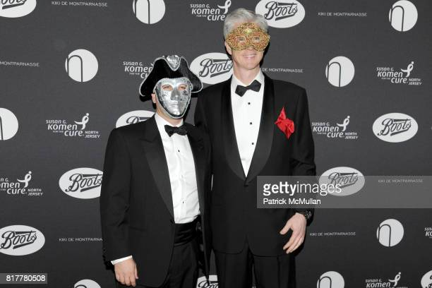 Brenen Shawn and Tom Curin attend VIP MASKED BALL for Susan G Komen Headlined by Sir Richard Branson Katie Couric Cornelia Guest HM Queen Noor and...