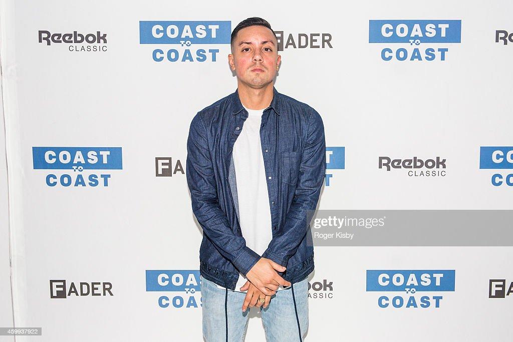 neues Hoch niedrigster Rabatt exquisites Design DJ Brenmar attends Reebok and The Fader Present Coast to ...