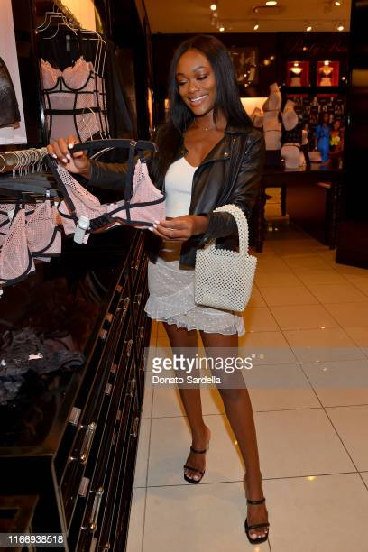Brenna Austin attends Victoria's Secret debuts new Fall Collection with Angel Leomie Anderson in Los Angeles on August 08 2019 in Los Angeles...