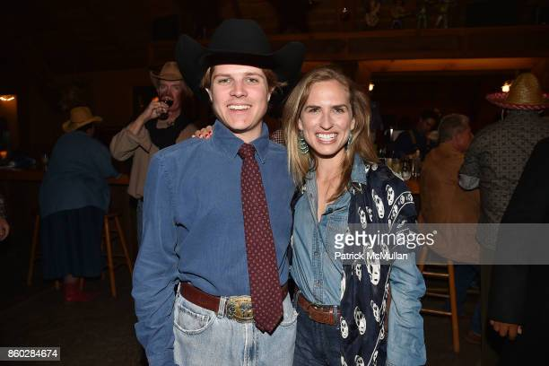 Brennan Balson and Ashley Bush attend Hearst Castle Preservation Foundation Annual Benefit Weekend 'Hearst Ranch Patron Cowboy Cookout' at Hearst...