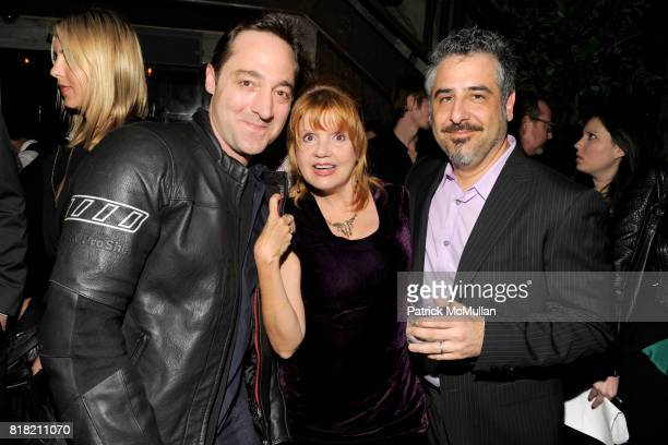 Brennan Brown Annie Golden and John Requa attend THE CINEMA SOCIETY DELEON Tequila host the after party for 'I LOVE YOU PHILLIP MORRIS' at Avenue on...