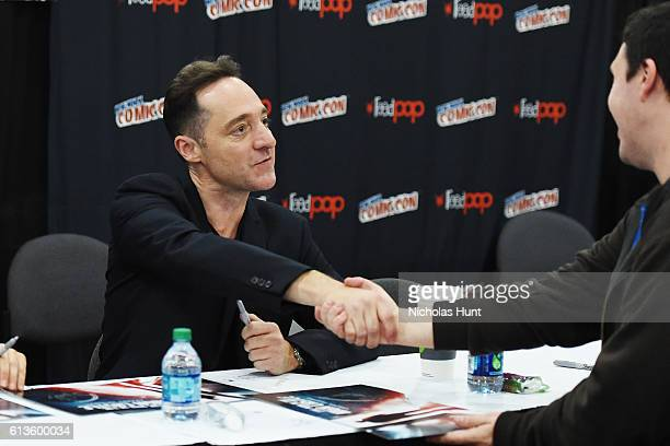 Brennan Brown attends The Man in the High Castle Meet Greet during the 2016 New York Comic Con Day 3 on October 8 2016 in New York City