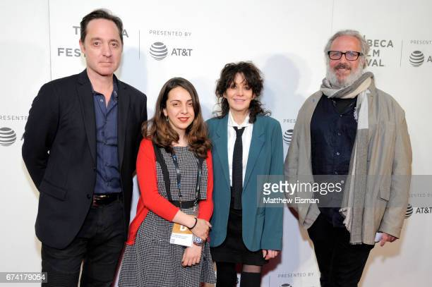 Brennan Brown Golrokh Masayebi Amy Heckerling and Udi Aloni attend Awards Night during the 2017 Tribeca Film Festival at BMCC Tribeca PAC on April 27...