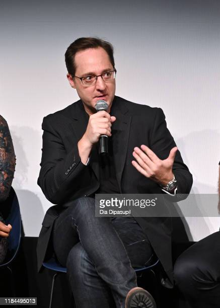 Brennan Brown speaks onstage at Amazon Prime Video's The Man In The High Castle Season Four Premiere Panel during the 22nd SCAD Savannah Film...