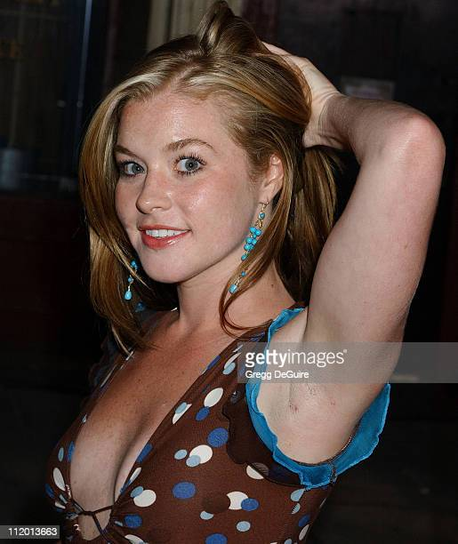 Brennan Hesser during 2004 Fox AllStar Party at 20th Century Fox Studios in Los Angeles California United States