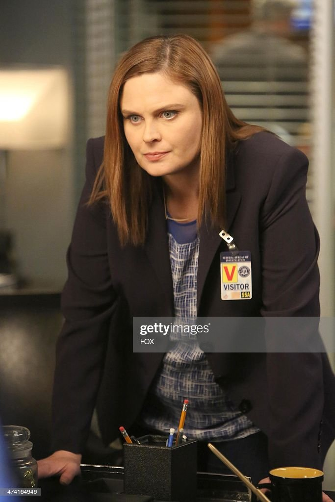 Brennan (Emily Deschanel) in the second part of the special two-hour 'The Lost in the Found'/'The Verdict in the Victims' episode of BONES airing Thursday, May 7, 2015 (8:00-10:00 PM ET/PT) on FOX.