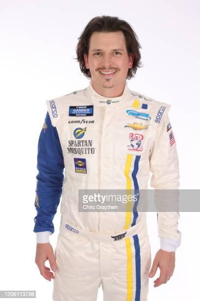 Brennan Poole poses for a photo at Daytona International Speedway on February 13 2020 in Daytona Beach Florida
