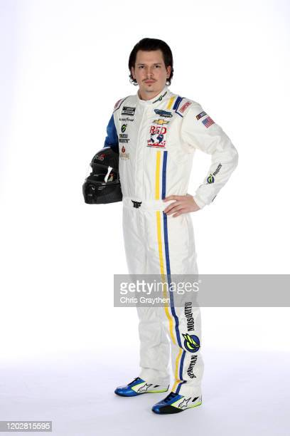 Brennan Poole poses for a photo during NASCAR Production Days at Charlotte Convention Center on January 28 2020 in Charlotte North Carolina