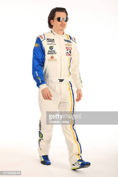Brennan Poole poses for a photo during NASCAR Production Days at Charlotte Convention Center on January 28 2020 in Charlotte North Carolina Photo by...