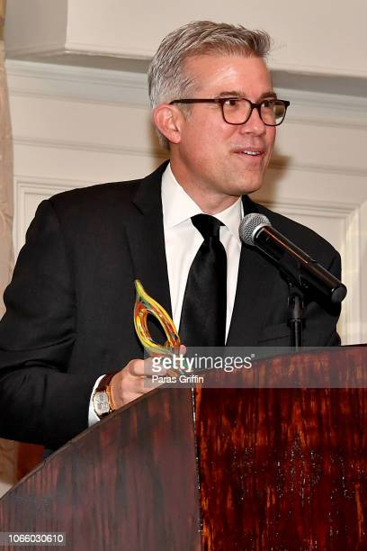 Brennen Dicker speaks at the '2018 Annual Women In Film Television Gala' at 103 West on November 10 2018 in Atlanta Georgia