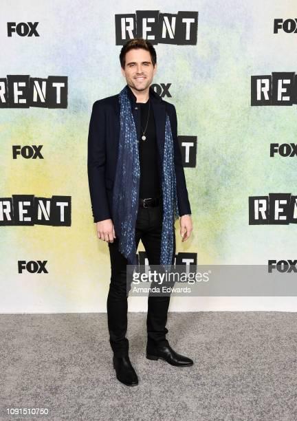 Brennin Hunt attends Fox's 'Rent' press junket at the Fox Studio Lot on January 08 2019 in Century City California