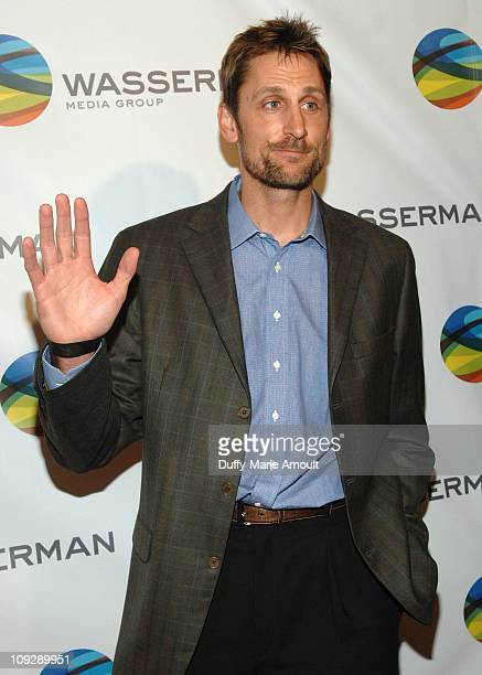 Brent Barry attends NBA All Star Party Hosted by Los Angeles Laker Pau Gasol at Sunset Marquis Hotel Villas on February 18 2011 in West Hollywood...