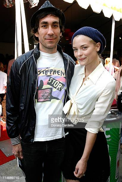 Brent Bolthouse and actress Jaime King attend the 7th annual Stuart House Benefit held by John Varvatos and Converse at John Varvatos Boutique on...
