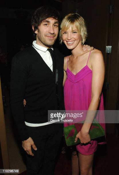 Brent Bolthouse and Ashley Scott during Grand Opening of The Pearl at The Palms with Gwen Stefani in Concert VIP Reception at The Pearl at The Palms...