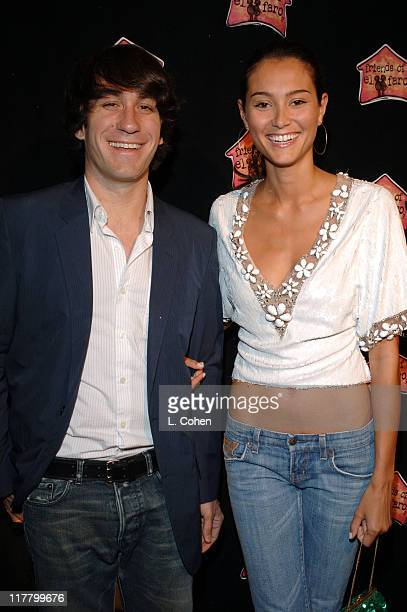 Brent Bolthouse and Emma Heming during Molly Sims Hosts the 3rd Annual Night with the Friends of El Faro Benefit at Henry Fonda Theatre in Los...