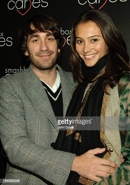 Brent Bolthouse and Emma Heming during Smashbox Cosmetics Hosts First Annual Toy Drive 'Babes in Toyland' at Smashbox Studios in Los Angeles...