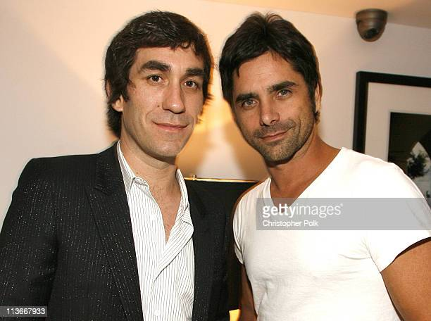 Brent Bolthouse and John Stamos during US Weekly's 2006 Hot Hollywood Fresh 15 Inside at Area in West Hollywood California United States
