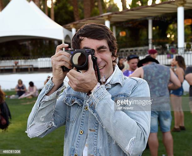 Brent Bolthouse attends day 1 of the 2015 Coachella Valley Music Arts Festival at the Empire Polo Club on April 10 2015 in Indio California