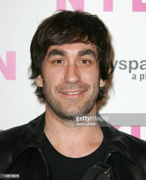 Brent Bolthouse attends the Nylon Magazine MySpace 3D Party on June 3 2008 in Los Angeles California