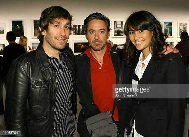 Brent Bolthouse Robert Downey Jr and Emma Heming