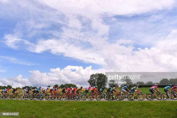 Brent Bookwalter of The United States and BMC Racing Team / Pavel Kochetkov of Russia and Team Katusha Alpecin / Ruben Guerreiro of Portugal and Team...