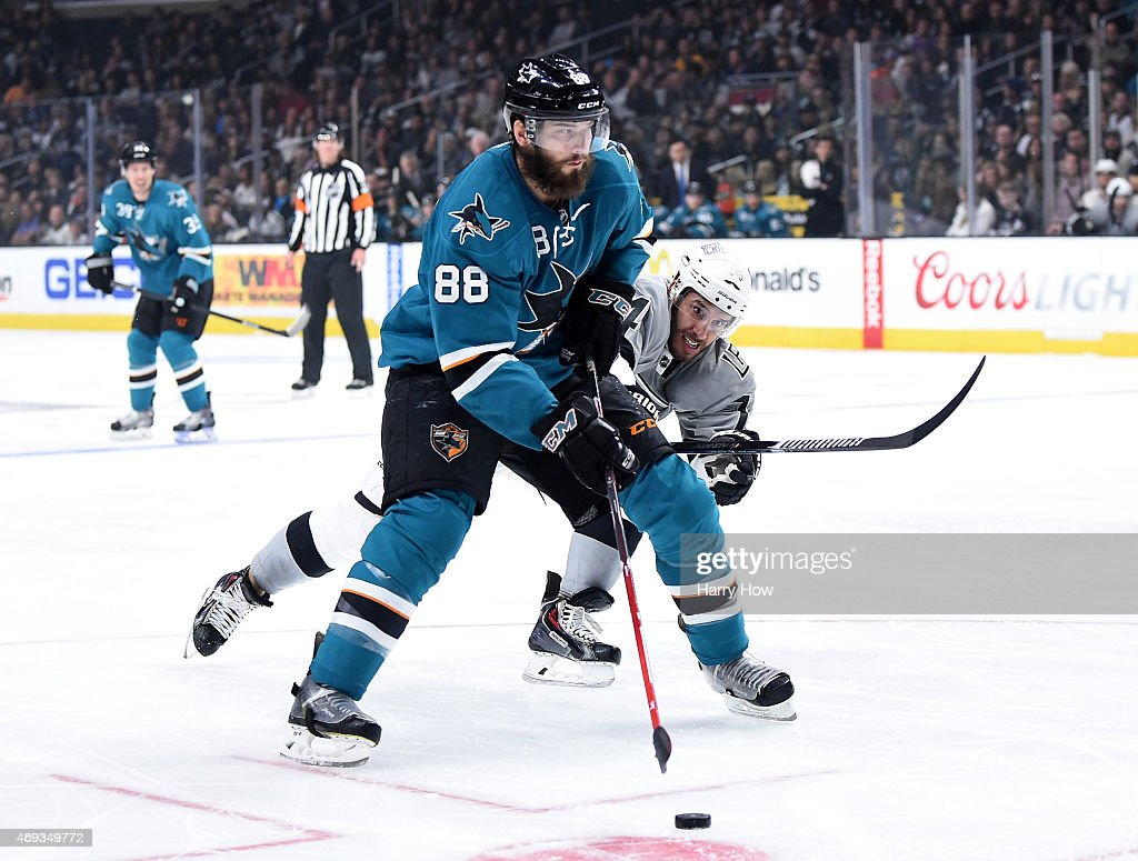 San Jose Sharks v Los Angeles Kings : News Photo