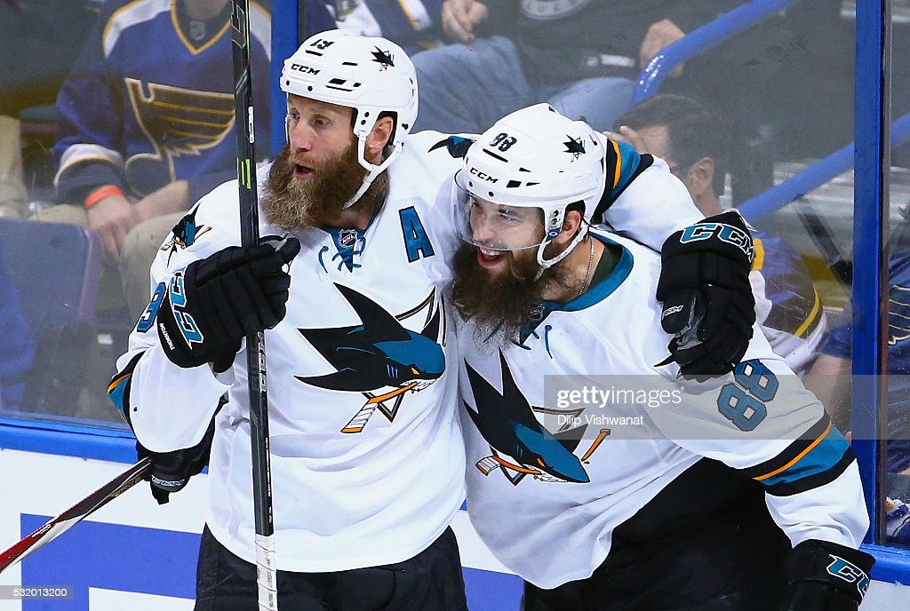 San Jose Sharks v St Louis Blues - Game Two : News Photo