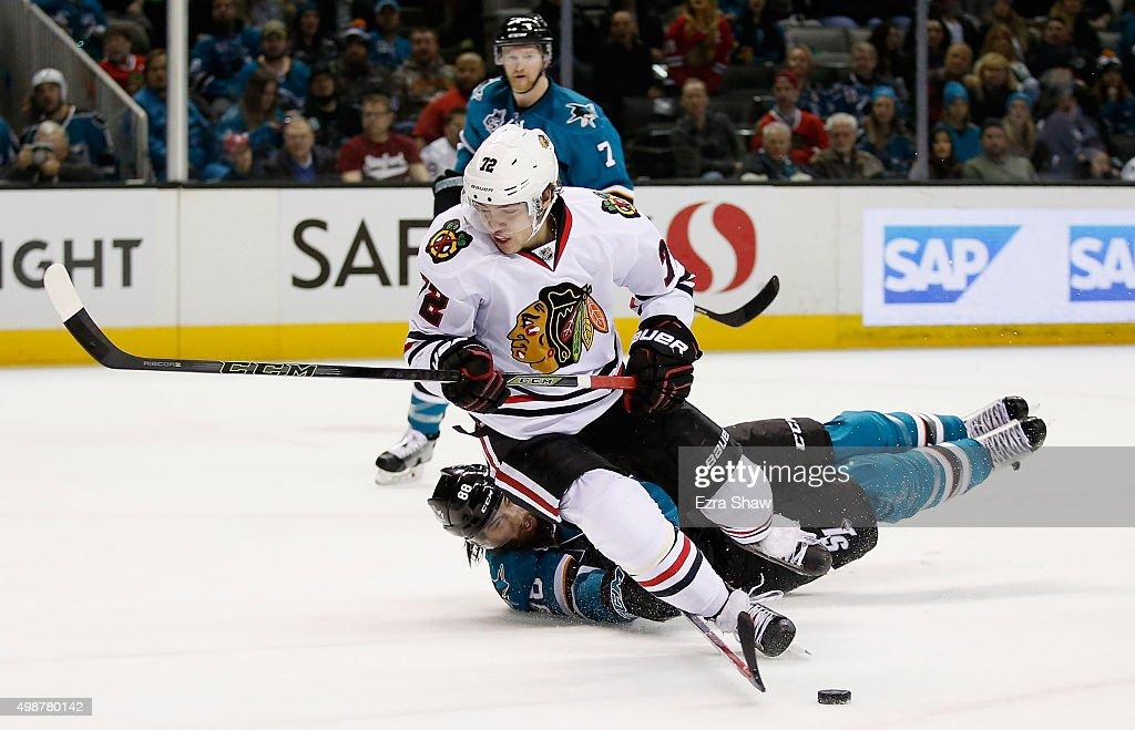 Chicago Blackhawks v San Jose Sharks
