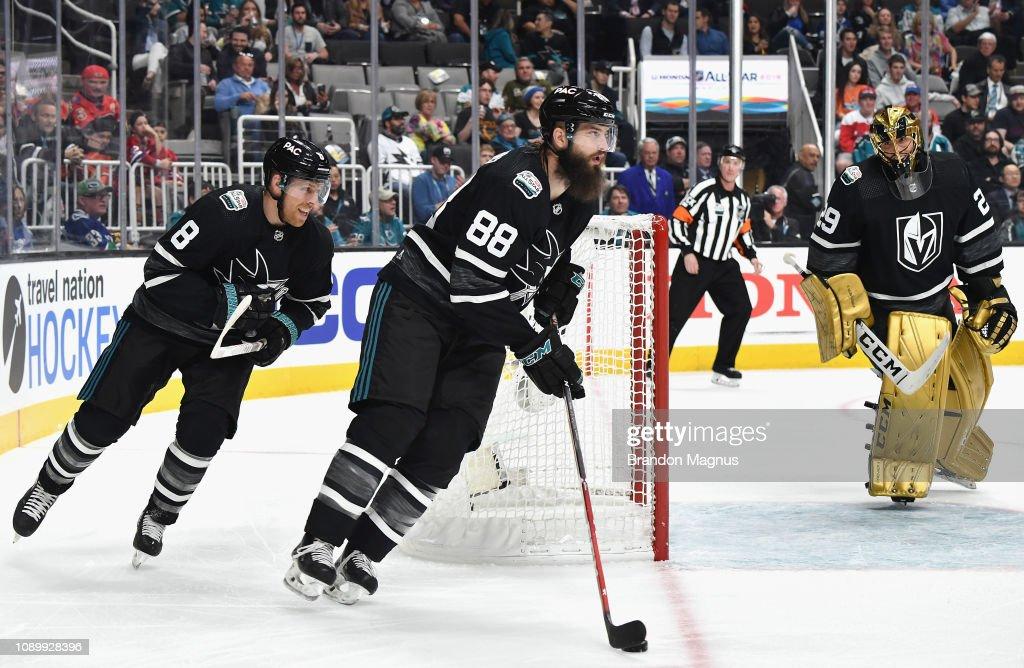 2019 Honda NHL All-Star Game - Central v Pacific : News Photo