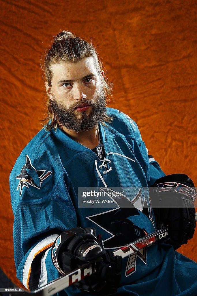 San Jose Sharks Headshots : News Photo