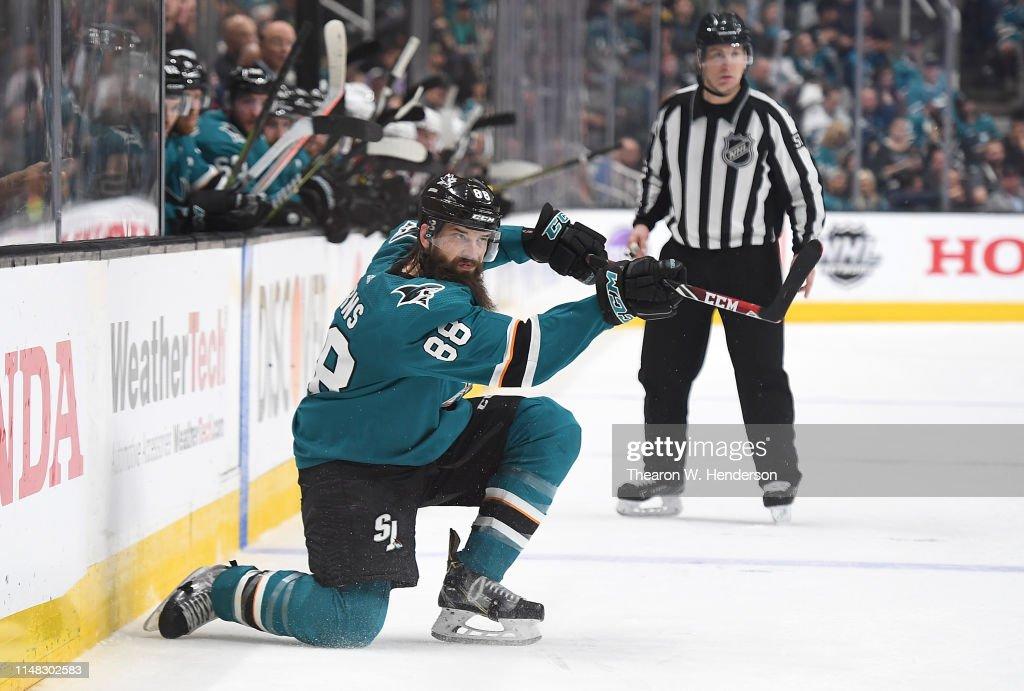 Colorado Avalanche v San Jose Sharks - Game Seven : News Photo