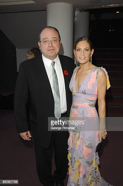"""Brent Butt and Tara Spencer-Nairn from """"Corner Gas"""" attend The 22nd Annual Gemini Awards at the Conexus Arts Centre on October 28, 2007 in Regina,..."""