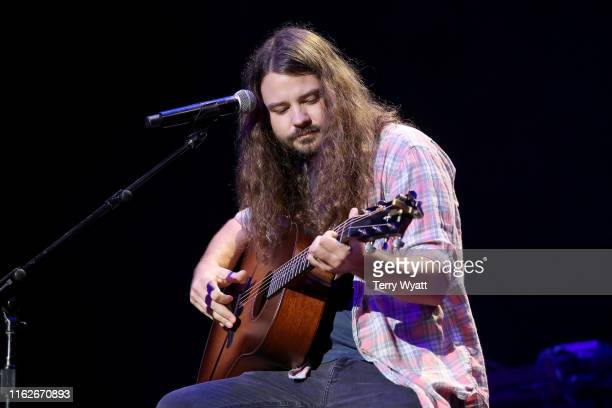 Brent Cobb performs onstage during the 6th Annual Georgia On My Mind presented by Gretsch at Ryman Auditorium Nashville on July 17 2019 in Nashville...