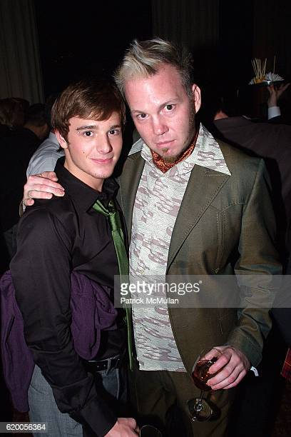 Brent Corrigan and Todd Stephens attend 15th Annual OUT100 Awards Presented by BRISTOLMYERS SQUIBB at Gotham Hall on November 14 2008 in New York City