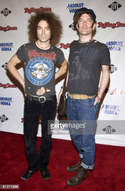 Brent DeBoer and Courtney Taylor-Taylor of The Dandy Warhols