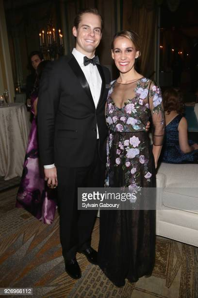 Brent Ferrin and Nicole Ferrin attend The 66th Annual New York Junior League Winter Ball on March 3 2018 in New York City