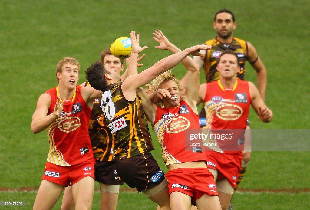 AFL Rd 21 - Hawthorn v Gold Coast