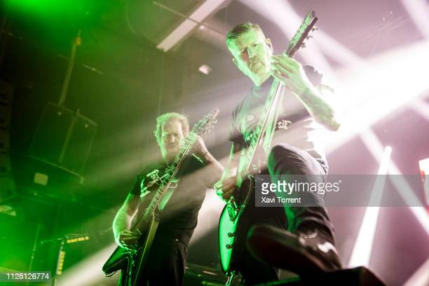 Brent Hinds and Bill Kelliher of Mastodon perform in concert at Razzmatazz on February 15 2019 in Barcelona Spain